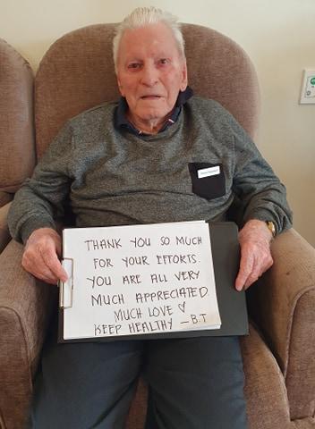 Bruce Thompson - Care Resident