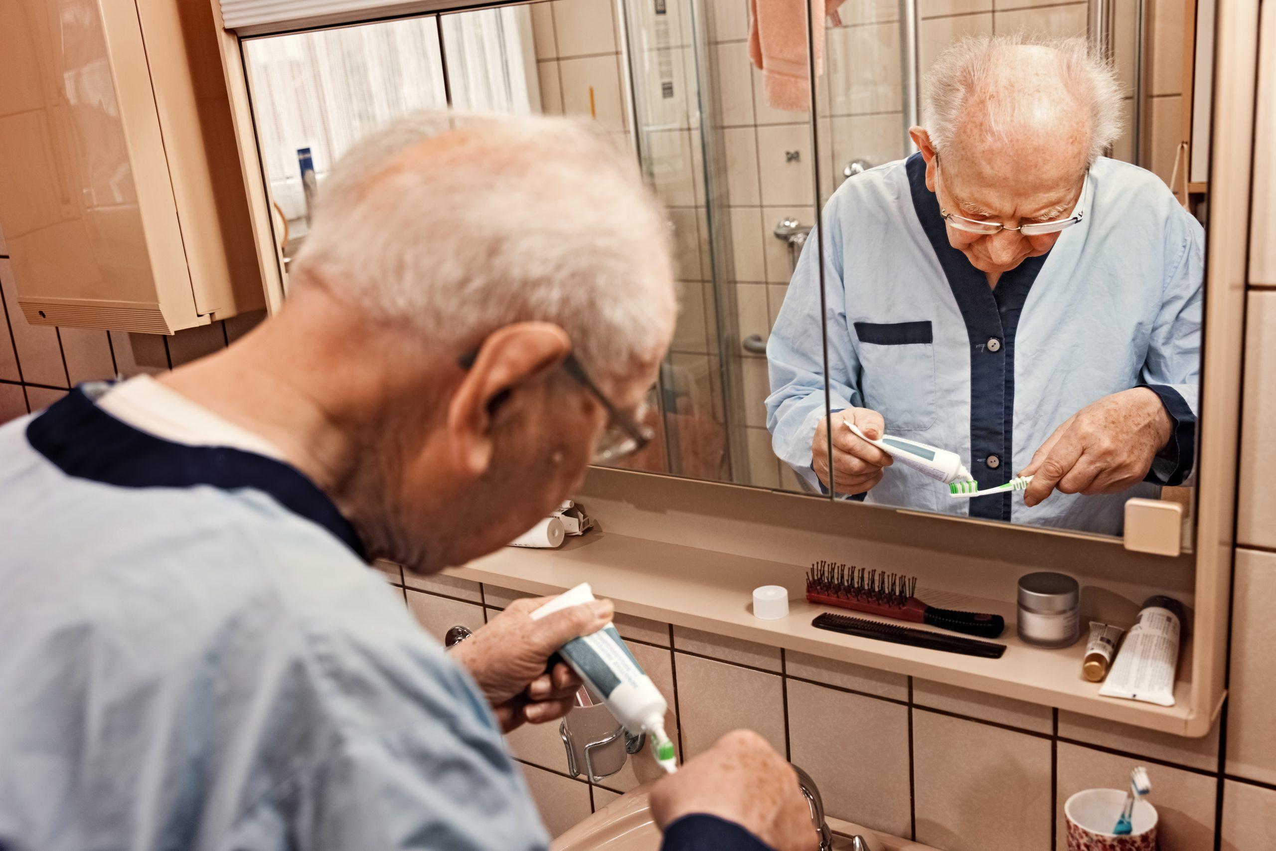 dental care in elderly