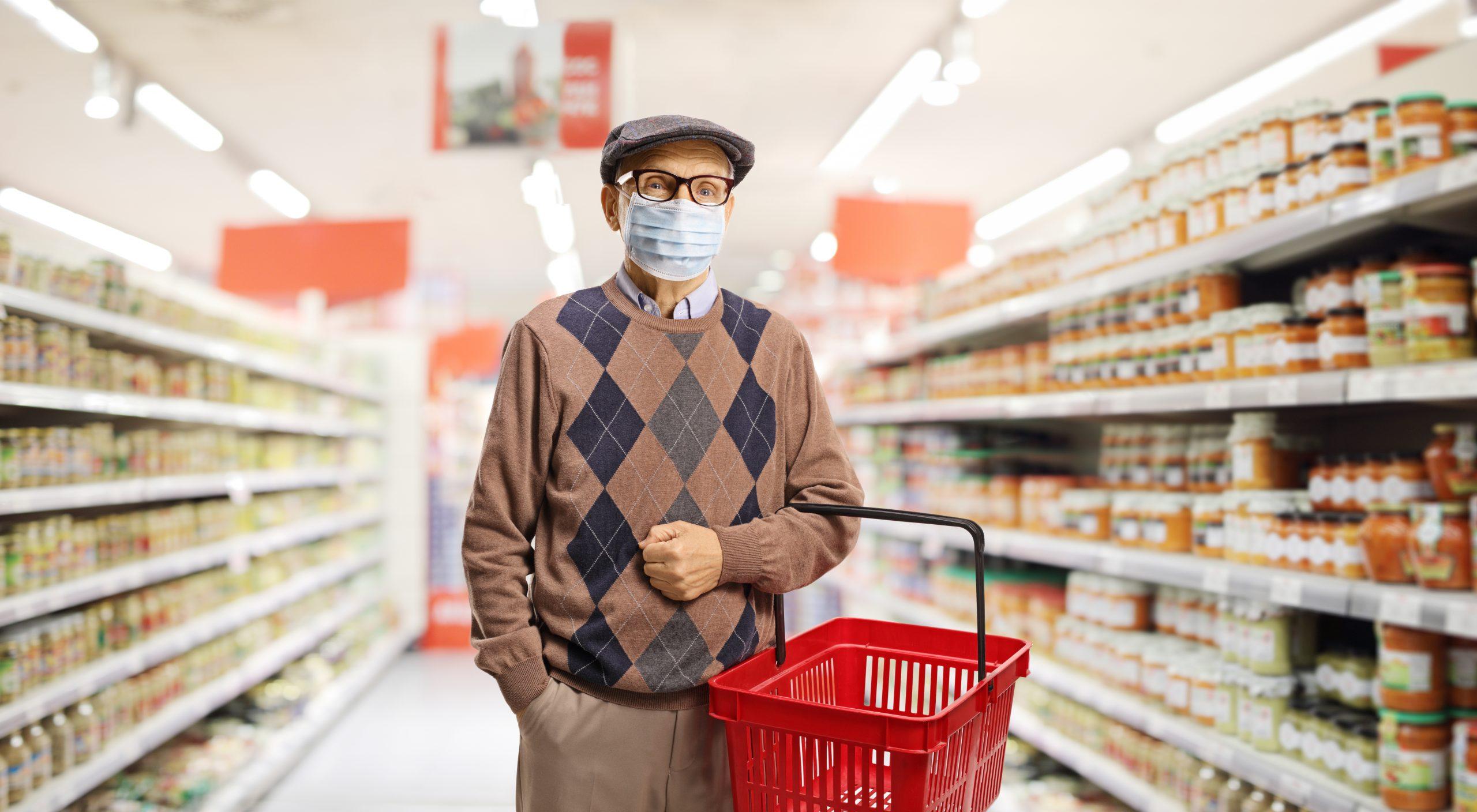 elderly shopping assistance