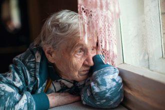 elderly in care dying of coronavirus