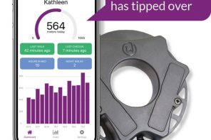 WALKWISE TECH HELPS CAREGIVERS MONITOR ELDERLY