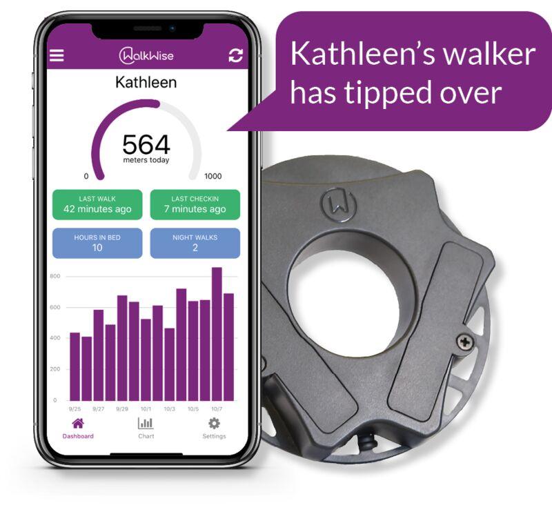 tech for seniors using walkers