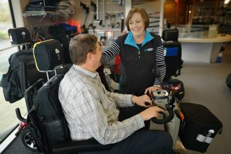 mobility in agedcare
