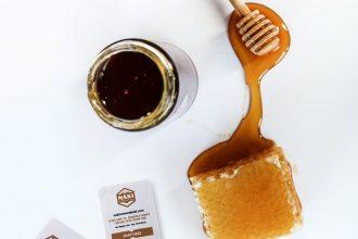 blended honey with CBD