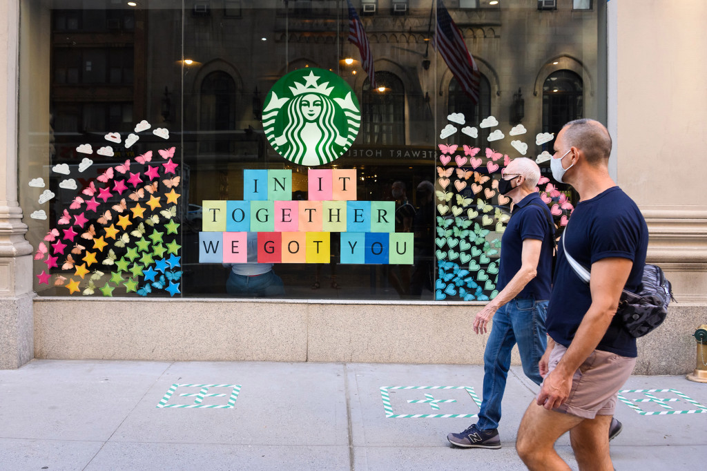 starbucks helping with vaccine rollout