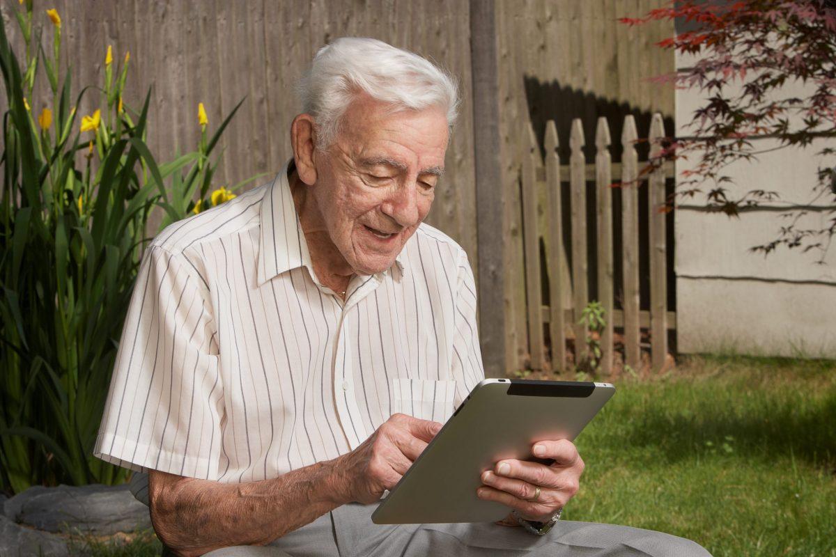 banking with senior