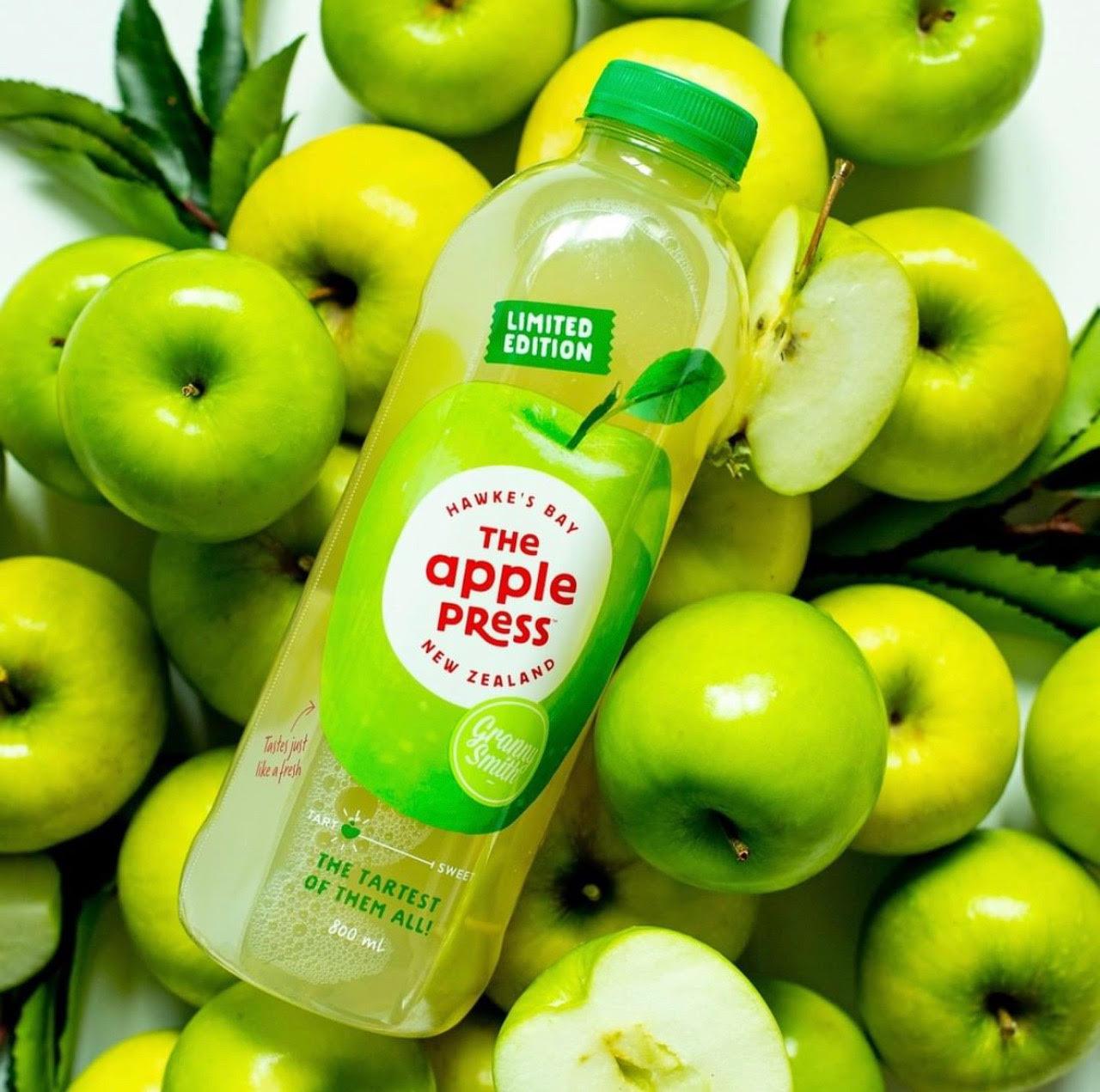 tart apple juice