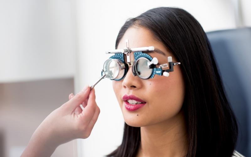 bupa eye test using AI