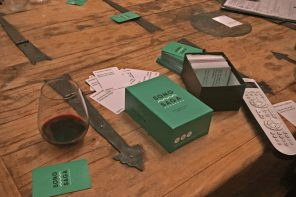 Conversation Card Game with a Killer Soundtrack