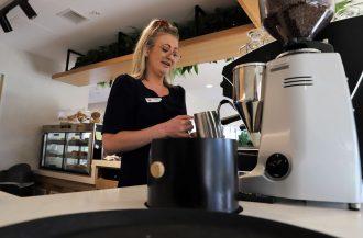 New Cafe set Community Vibe