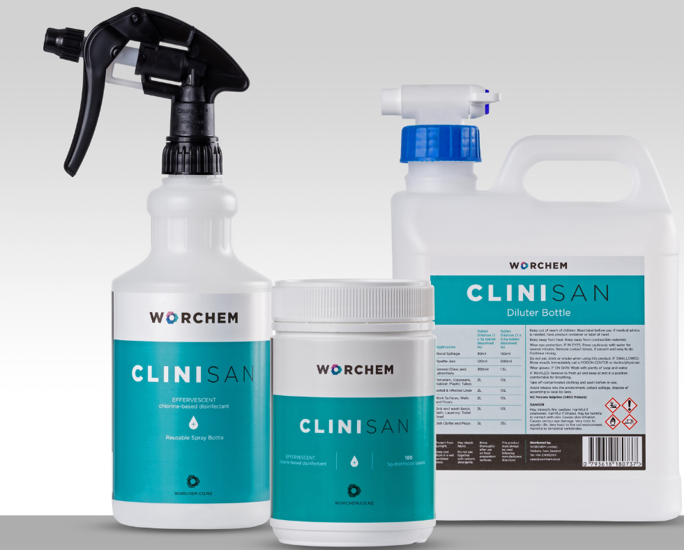 Deep Clean with Clinisan